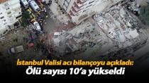 Çöken binadaki acı bilançoyu açıkladı! Ölü sayısı arttı