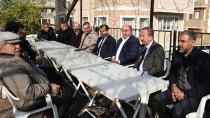 Esendemir'e taziye ziyaretleri