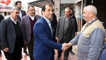 Başkan Güler, esnaf ziyaretlerini sürdürüyor!
