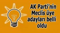 Cumhur İttifakı'nın Yüreğir Belediye Meclisi üyeliği adayları kesinleşti.