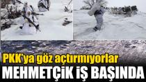 Mehmetçik, PKK ile Mücadeleye Zorlu Kış Şartlarında...