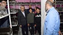 Vali Demirtaş, ziyaret ettiği tesisleri inceledi...