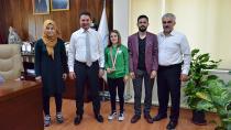 Şampiyonlar Ataşbak'ı Ziyaret Etti