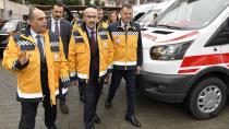 Adana'da 9 Ambulans Daha Hizmete Alındı