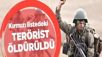 PKK'nın kırmızı listedeki elebaşı öldürüldü!