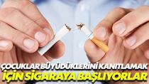 Türkiye'de 252 bin çocuk sigara kullanıyor!