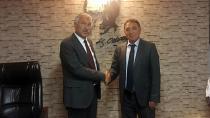 Başkan Karalar, Küreksiz'ı ziyaret etti 'Başarı' Diledi