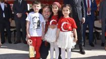 Başkan Aydar'a Törende Sevgi Seli...