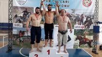 Ali İhsan Ariç Güreşte Türkiye Üçüncüsü Oldu