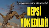 Bakanlık duyurdu! 14 terörist etkisiz hale getirildi