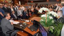 İYİ Parti'lilerden Soner Çetin'e büyük ilgi