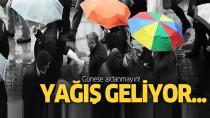 Türkiye geneli için sağanak yağmur uyarısı...