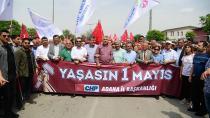 Adana'da tarihi 1 Mayıs Coşkusu