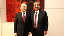 Kılıçdaroğlu, Soner Çetin'i kabul etti...