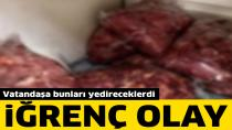 Adana'da 450 Kilogram Bozulmuş Horoz Eti Ele Geçirildi