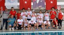 Özel Sporcular Yüzme Yarışları Yapıldı