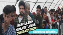 Suriyeliler, ülkelerine tatile gidiyor!