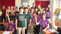 Ayhan Barut ortaokul öğrencileriyle buluştu