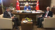 Avcı, Yıldırım'a destek için İstanbul'da