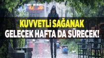 Meteoroloji uyardı: Kuvvetli yağışa dikkat!