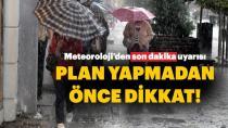 Meteoroloji birçok ili uyardı! Sağanak yağış geliyor