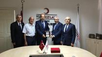 Emniyet Müdürü Aktaş'tan Kızılay'a Ziyaret