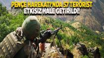 Son olarak 6 PKK'lı terörist daha öldürüldü...