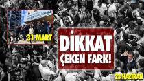 İmamoğlu'na ilgide 31 Mart ve 23 Haziran arasındaki dikkat çeken fark