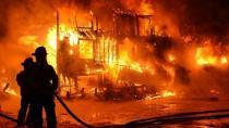 Yaşlı kadın, evde çıkan yangında öldü