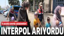 Interpol'ün aradığı DEAŞ'lı Rus kadınlar, 9 çocukla sınırda yakalandı