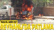 Reyhanlı'da bomba patladı: 3 ölü!