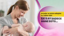Doç. Dr. Akın: İlk 6 ay sadece anne sütü!