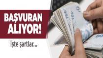 Başvuran parayı alıyor! İşte şartlar…