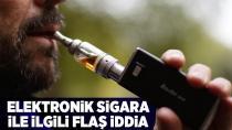 E-sigara alarm veriyor!