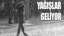 Kuvvetli sağanak yağmur geliyor