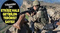 Yılbaşından beri 635 PKK'lı teröristi etkisiz hale getirildi