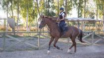 13 yaşındaki Mercan, 'Başarıya koşuyor'