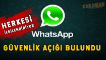 WhatsApp'a fazla güvenmeyin!