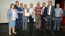 CHP'de eğitim sertifikaları verildi...