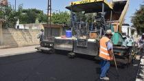 Ceyhan'da  asfalt çalışması aralıksız sürüyor!