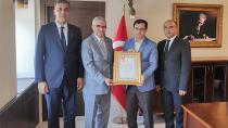 Kızılay'dan Milli Eğitim'e Altın Madalya!