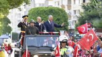 Adana'da 29 Ekim Cumhuriyet Bayramı coşkusu