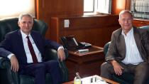 Ukraynalı Akademisyenler Rektör Kibar'ı ziyaret etti