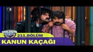 Güldür Güldür Show 211.Bölüm - Kanun Kaçağı