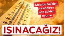 Yurt genelinde yağış beklenmiyor, sıcaklıklar mevsim normallerinin üstünde seyredecek