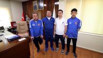 Ampute Futbol Takımı'ndan Ataşbak'a Ziyaret