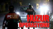 Adana'da bin polis ile hava destekli asayiş uygulaması
