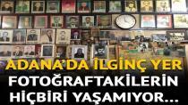 Adana'da ilginç kıraathane... Ölen hemşehrilerinin fotoğraflarını duvara asıyor