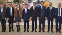 Barodan başkan Ay'a 'hayırlı olsun' ziyareti