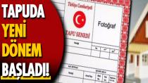 4 tapu belgesi e-Devlet'ten alınabilecek